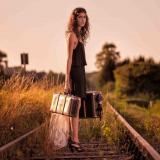 С чемоданом к маме